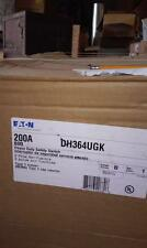 Eaton 200 Amp DH364UGK Heavy Duty Safety Switch, 3 Pole Non-Fusible, Type 1 -NEW