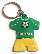 Portachiavi Brasil Maglietta in gomma