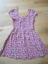 Girl TINY FLOWERS FLORAL PRINT SPRING SUMMER DRESS EUC 7