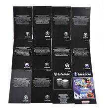 Nintendo Gamecube Consumer Information Booklets + Bongo Instructions