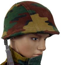 GENUINE BELGIAN BELGIUM ARMY HELMET COVER in M90 JIGSAW CAMO