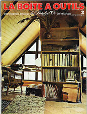 *** La Boite à Outils *** n° 002 - 1977 - Ed Atlas // Renovation meubles anciens