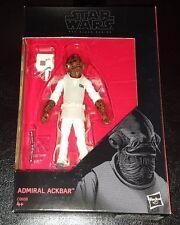 """Star Wars Admiral Ackbar Negro Serie 3.75"""" acción figura producto Exclusivo De Walmart"""