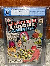 Justice League of America #1 PGX 4.0 DC 1960 Superman! Free CGC Mylar! D10 cm L2