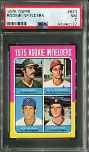 1975 Topps MINI #623 Keith Hernandez Rookie! PSA 7 NM