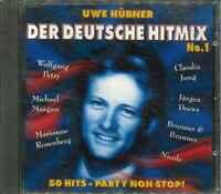 """UWE HÜBNER """"Der Deutsche Hitmix No. 1"""" CD-Sampler"""