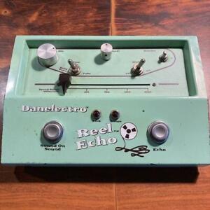 Danelectro DTE-1 Reel Echo Guitar Effect Pedal Tape