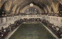 Postcard Interior Pittsburgh Natatorium Pool Mfg Building Pittsburgh PA