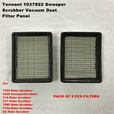 Tennant 1037822 386326 Sweeper Scrubber Vacuum Dust 2pcs Filters Panel 7100/7300