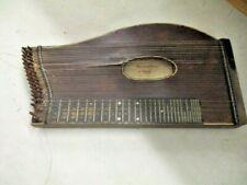 sehr alte, antike Zither, Instrument, Musik, Bayern, mit Koffer