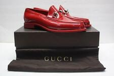 GUCCI Red Rubber Horsebit Penny Loafers Size 11 GUCCI / 11.5 US