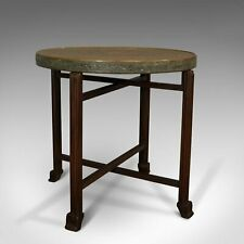 Early C20th Berber Table, Brass, Side, Campaign, Art Deco Period, Circa 1930