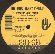 THE TODD TERRY PROJECT - The Circus  /  Weekend - 1989 - Fresh - Usa - FRE-80128