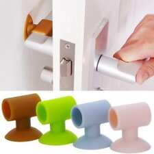 Wall Mounted Door Stopper Rubber Collision Cushion Adhesive Mat Protective Lock