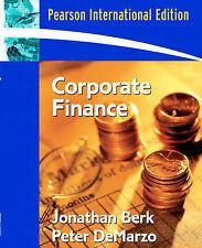 Corporate Finance by Peter DeMarzo, Jonathan Berk (Paperback, 2006)