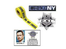 Les experts Manhattan Lot carte ecusson 6 metres bande experts csi NY lot