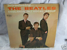 Introducing The Beatles VJLP 1062 Vee Jay   Vinyl  record  vintage