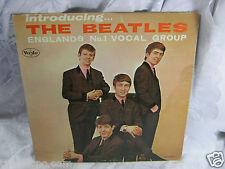 Introducing The Beatles VJLP 1062 Vee Jay   Vinyl  record  vintage