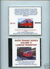 CD: Sounds of the London Underground Old Cars Tube Train