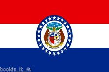 ***MISSOURI VINYL STATE FLAG DECAL / STICKER***