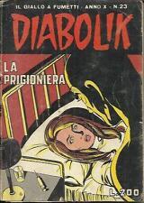 DIABOLIK anno X n° 23 (Astorina, 1971)