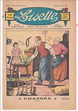 LISETTE N°9 du 1er mars 1936 LEVESQUE CUVILLIER PORTELETTE couture poupée