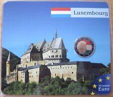 """MDS Luxembourg 2 euro 2010 """"Henri + blason"""", coloriert"""