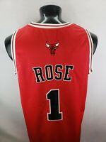 Chicago Bulls Derrick Rose Adidas NBA Mens Size 54 Jersey 20th Anniversary