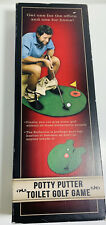Potty Putter Toilet Golf (Original Version) Men Gadjet Game Ball Gift Fun