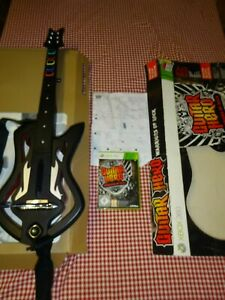 Guitar Hero Warriors of Rock Boxed XBOX 360 Plus Disk & Instructions