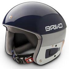 Briko Vulcano FIS Ski Race Helmet - Blue Sky, Large (58cm)