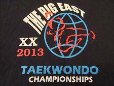 The Big East XX 2013 TAEKWONDO CHAMPIONSHIPS T Shirt Size M