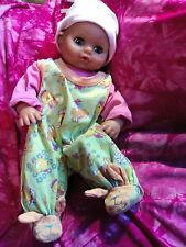 Schnucklige Baby Puppe ❤Lissi Doll Bätz Schlummerle.New Born.ohne Zapf Kleidung