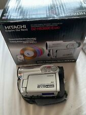 HITACHI HYBIRD DVD HDD CAMCORDER DZ-HS300E * MULTI-FORMAT VIDEO CAMERA