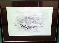 B-24 Liberator Artist Proof Print ROBERT TAYLOR 1987 Framed and Glazed