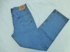 MENS LEVIS 550 RELAXED FIT JEANS SIZE 36x33.5 #M1098