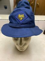 1980s Cub Scout Den Mother's Hat Oscar De La Renta - Size Small 6 7/8 - 7