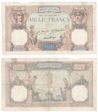 More details for france 1000 francs banknote (1927) p.79a - f.