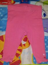 BABY GIRLS Sz OO pink TARGET leggings with heart buttons CUTE!