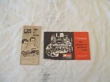 1960's Monogram 1/8 Scale Customizing The Chevy V8 Engine Guidebook & Catalog