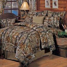 Camo Sheet Set 4 Piece Queen Cotton Bed Sheets Pillow Cases Home Bedroom Decor