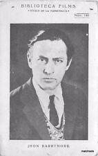 1930s John Barrymore Movie Actor Mexico postcard 2480