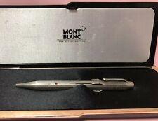 Authentic Vintage Rare MONTBLANC  4 Colors pencil Silver Finish R1