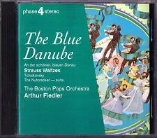 Arthur FIEDLER: J STRAUSS An der schönen, blauen Donau TCHAIKOVSKY Nutcracker CD