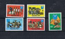 REPUBLIQUE RWANDAISE - 1971 LA GARDE NATIONALE AU SERVICE DE LA NATION. SET, MNH