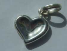 Genuine Links of London thumbprint heart charm hallmarked