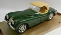Brumm 1/43 Scale Metal Model - R102 JAGUAR 3.5LITRI HP 160 1948 GREEN