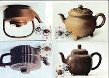 D070004 P.R. China Complete Set of Maxicards Teapots 1994-5