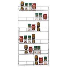 6 Tier Cuisine Rack Herbes Bocal à épices stockage PLACARD Cabinet sur porte monté