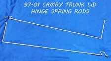 1997 - 2001 TOYOTA CAMRY TRUNK LID / DECK LID HINGE SPRING RODS / TENSION RODS